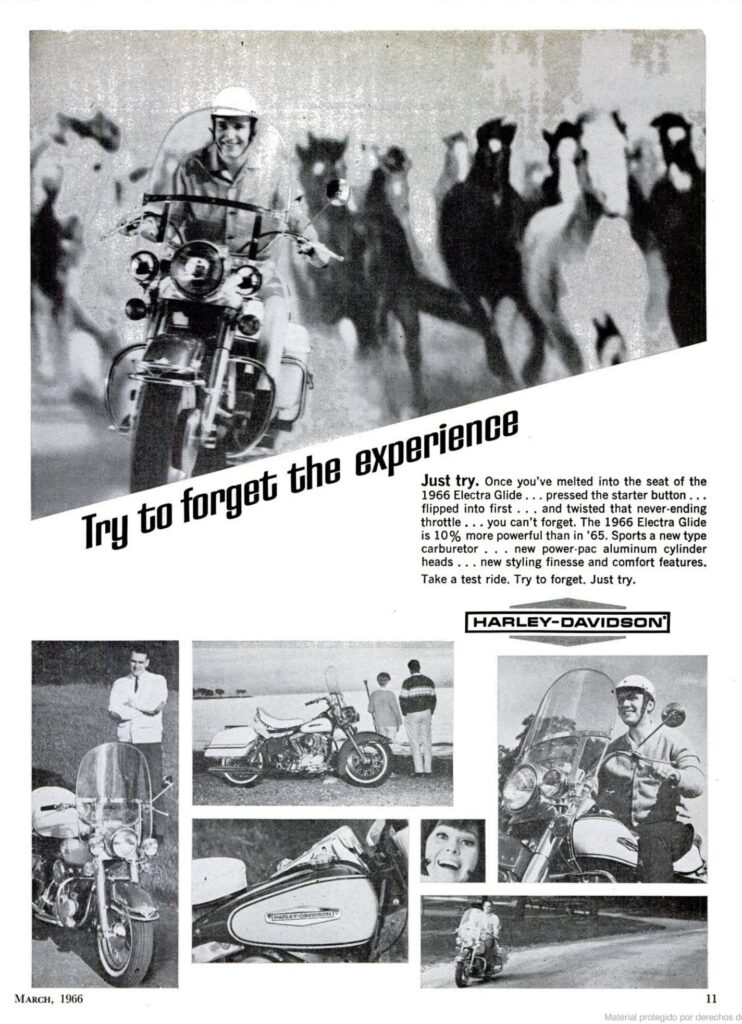 1966 - Harley-Davidson - Try to forget