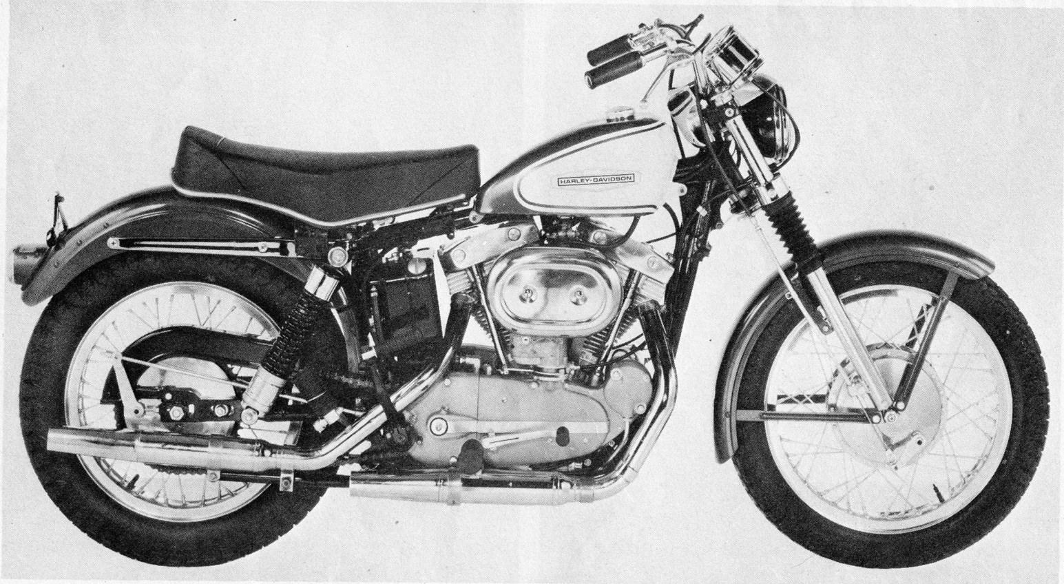Modelo 66-XLCH Sportster