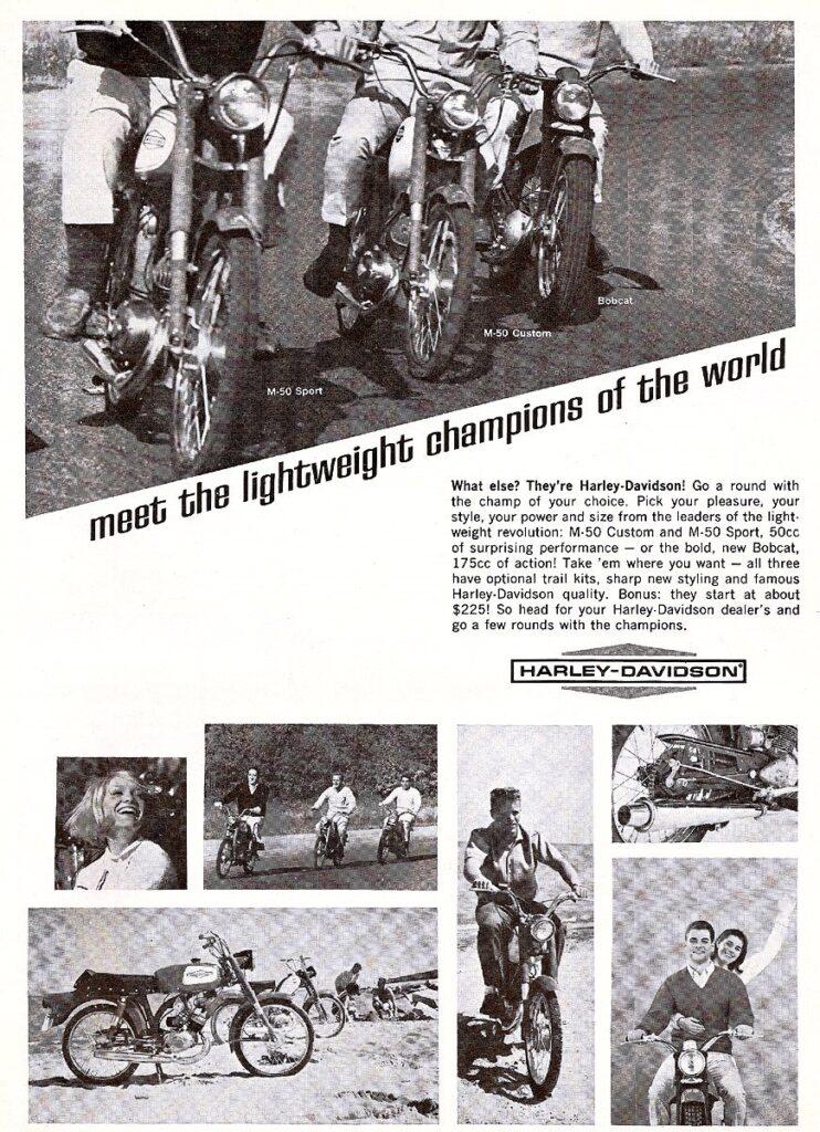 1966 - Harley-Davidson - Meet the lightweight