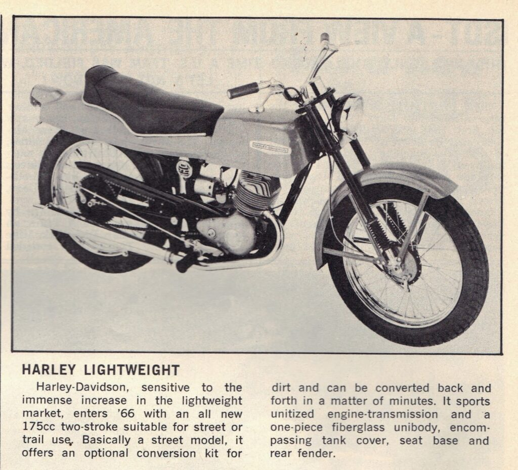 1966 - Harley-Davidson - Lightweight