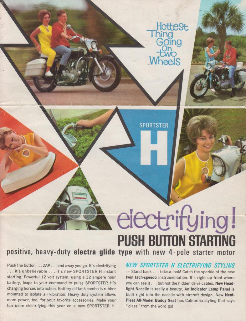 1967 - Harley-Davidson - folletos