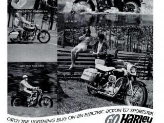 Historia de Harley-Davidson 1966 a 1970 - Harley Clasica