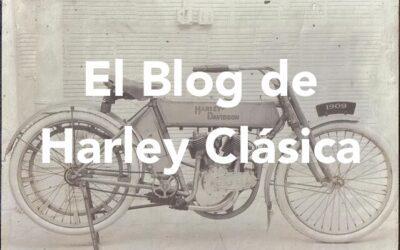 Arranca el blog de Harley Clásica