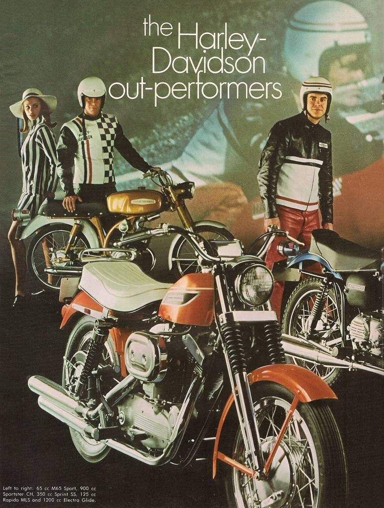 1969 - Harley-Davidson - Folletos