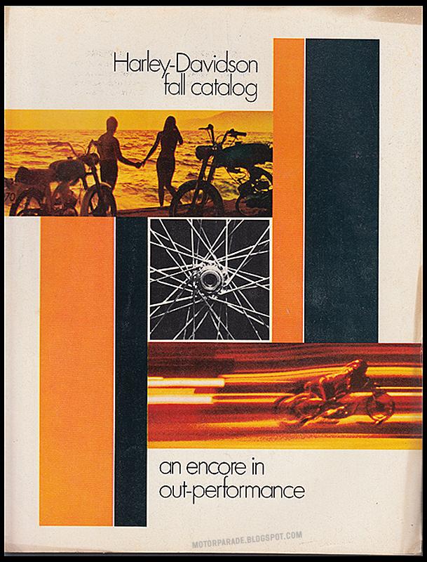 1970 - Harley-Davidson - Folletos