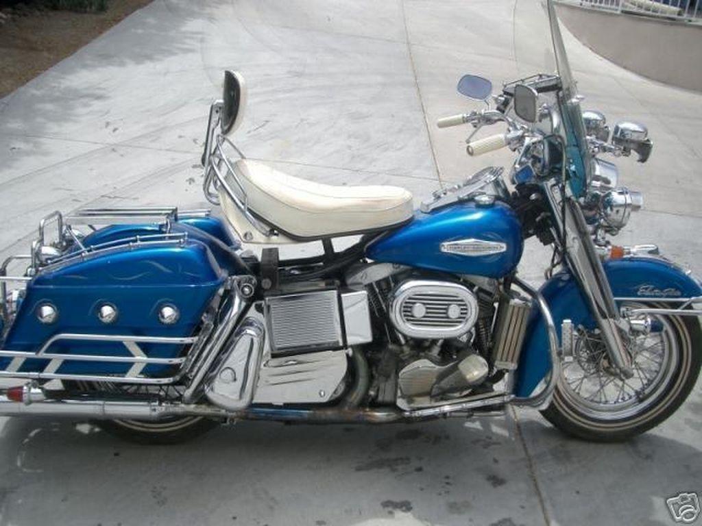 """Este modelo de 1968 es el que se utilizó en la película de 1973 - """"Electra Gliide in Blue"""""""