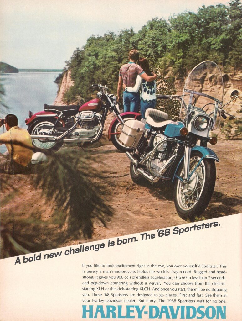 1968 - Harley-Davidson - Folletos