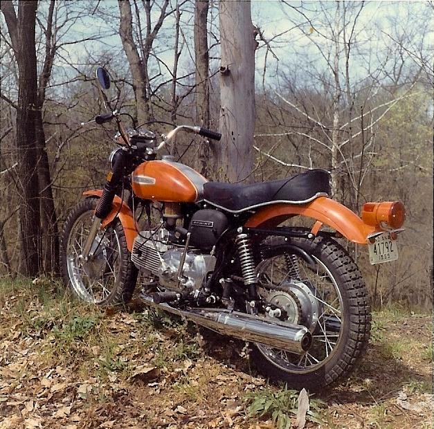 1968 Harley-Davidson Sprint SS