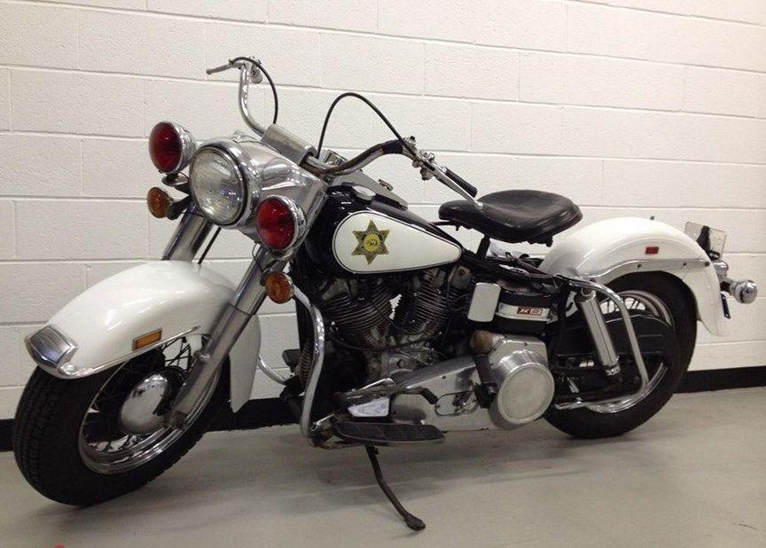Modelo FLH Police Solo de 1969