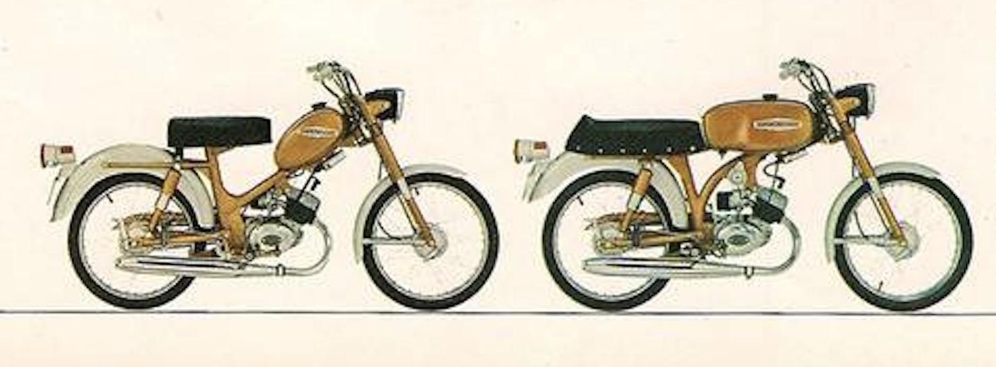Modelos M-65 y M-65 Sport de 1969