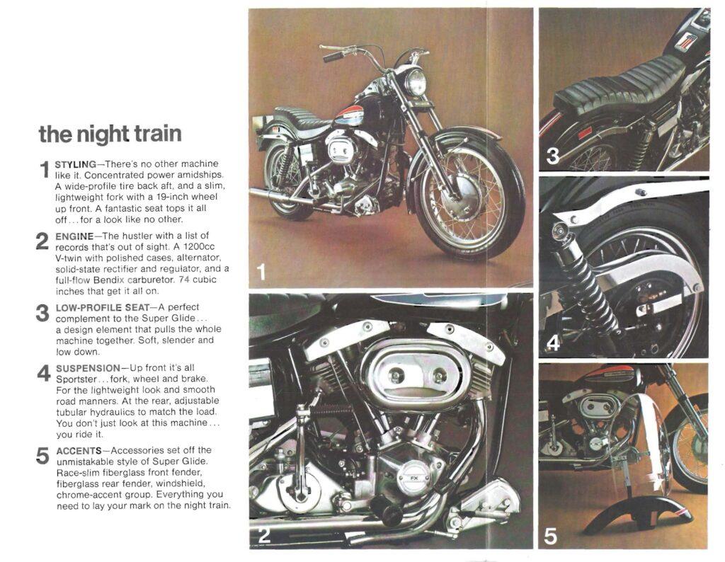 1972 - Harley-Davidson - Folletos