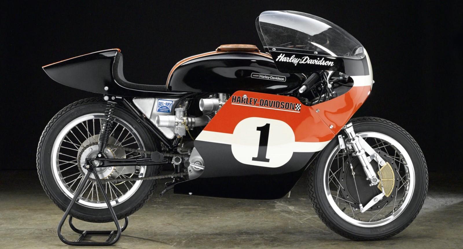 Modelo de competición XRTT 750 de 1972