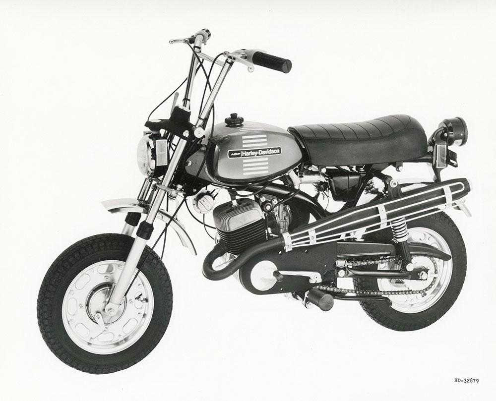 Modelo mini-bike X-90 de 1973