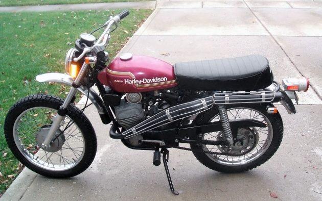 Modelo SX-125 de 1974