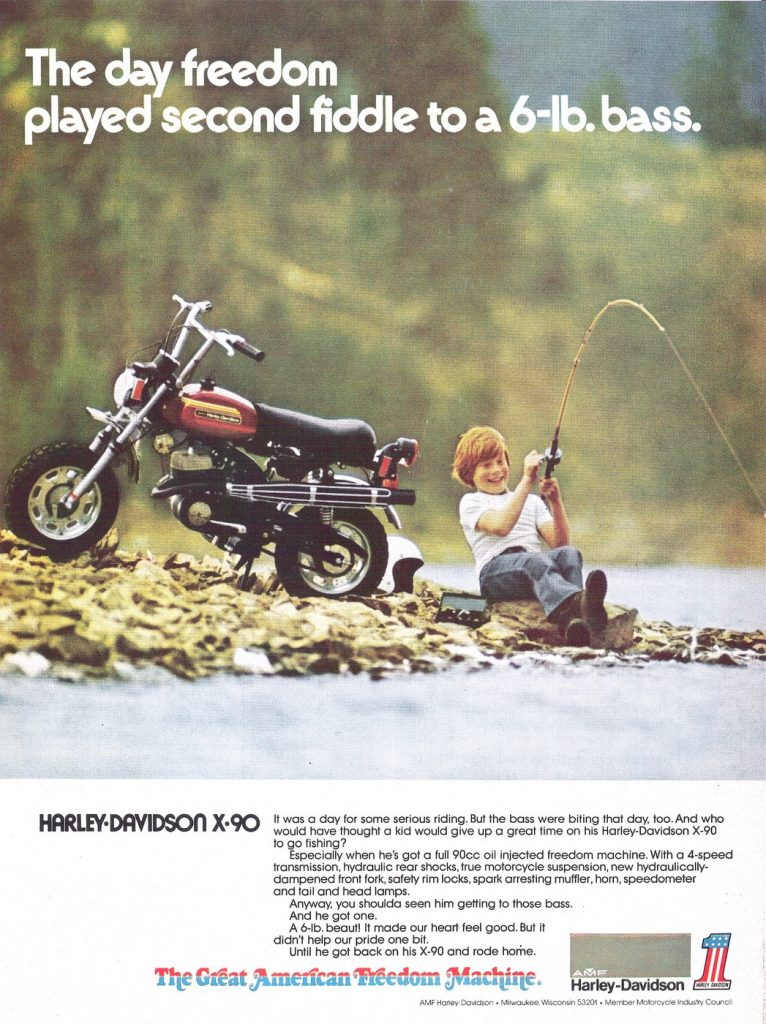 1974 - Harley-Davidson - Folletos
