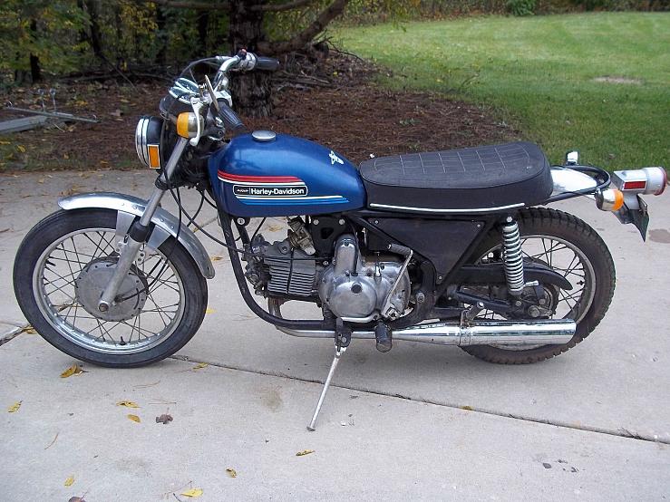 Modelo Sprint SS-350 de 1974