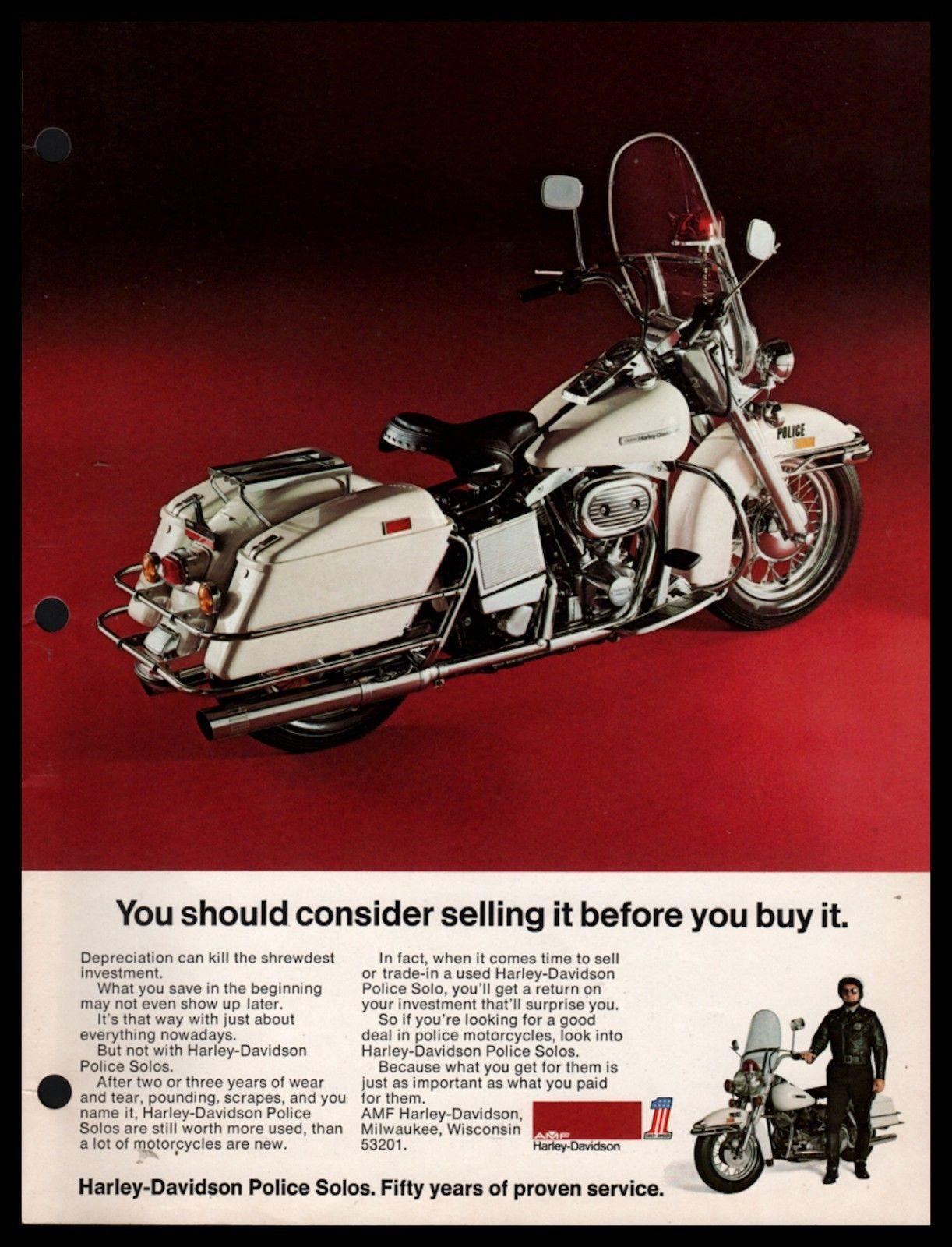 Anuncio modelo Policía de 1975