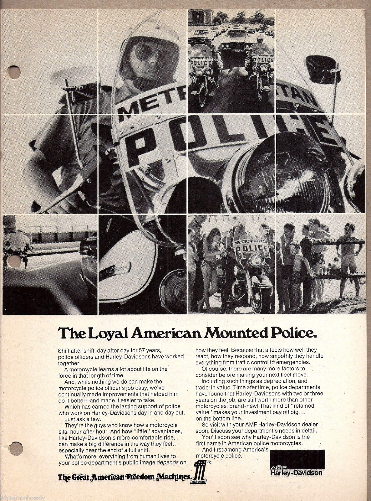 The Loyal American Mounted Police