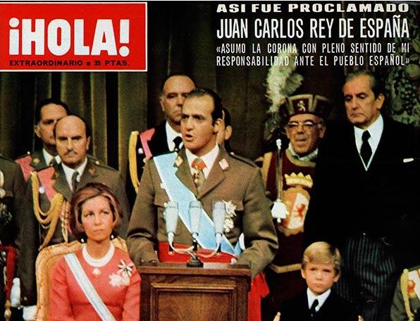 Proclamación de Juan Carlos I, Rey de España