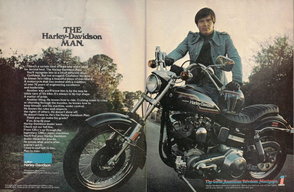 1975 - Harley-Davidson - Folletos