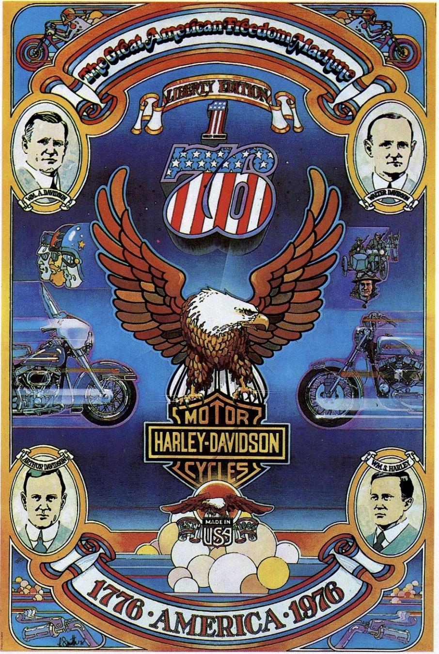"""Poster conmemoración """"Liberty Edition"""""""