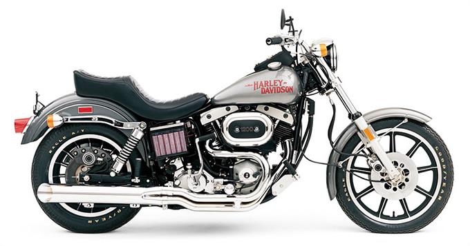 Modelo FXS Low Rider de 1977