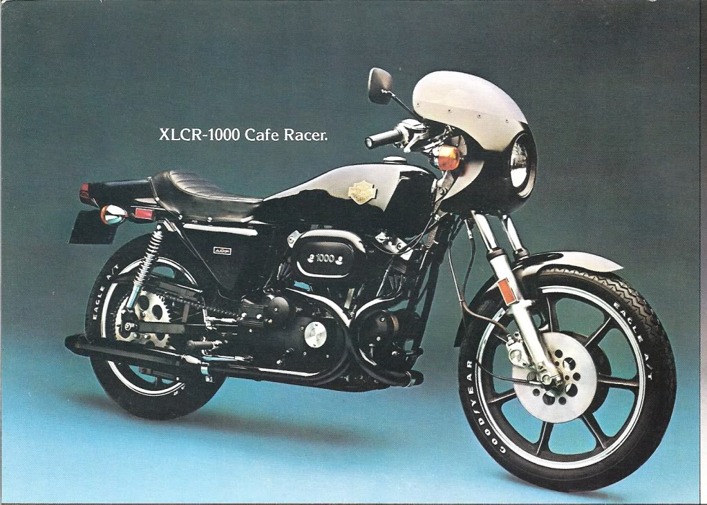1977 - Harley-Davidson - Folletos