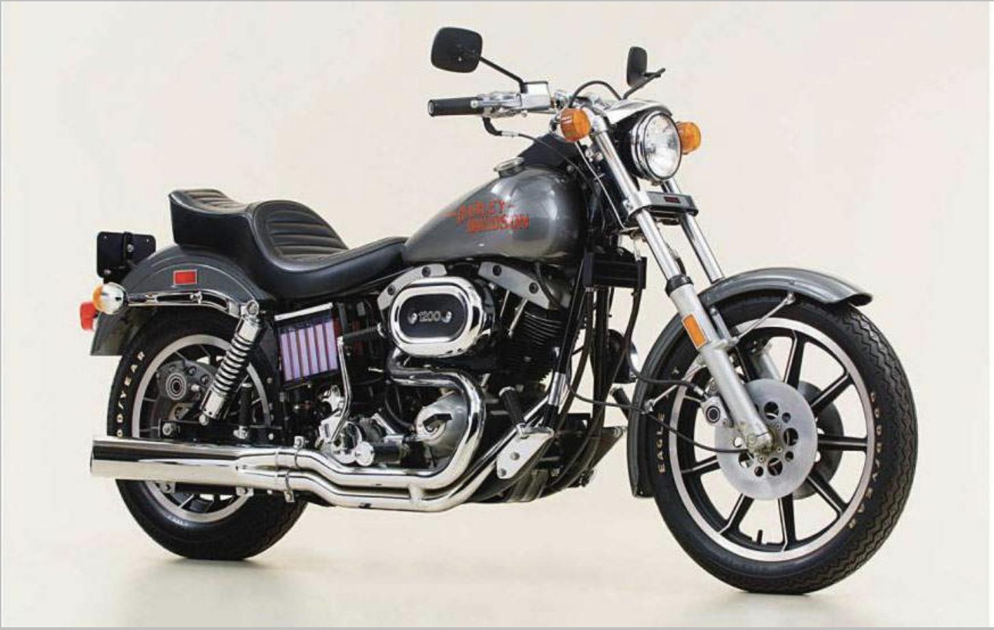 Modelo FXS Low Rider de 1978
