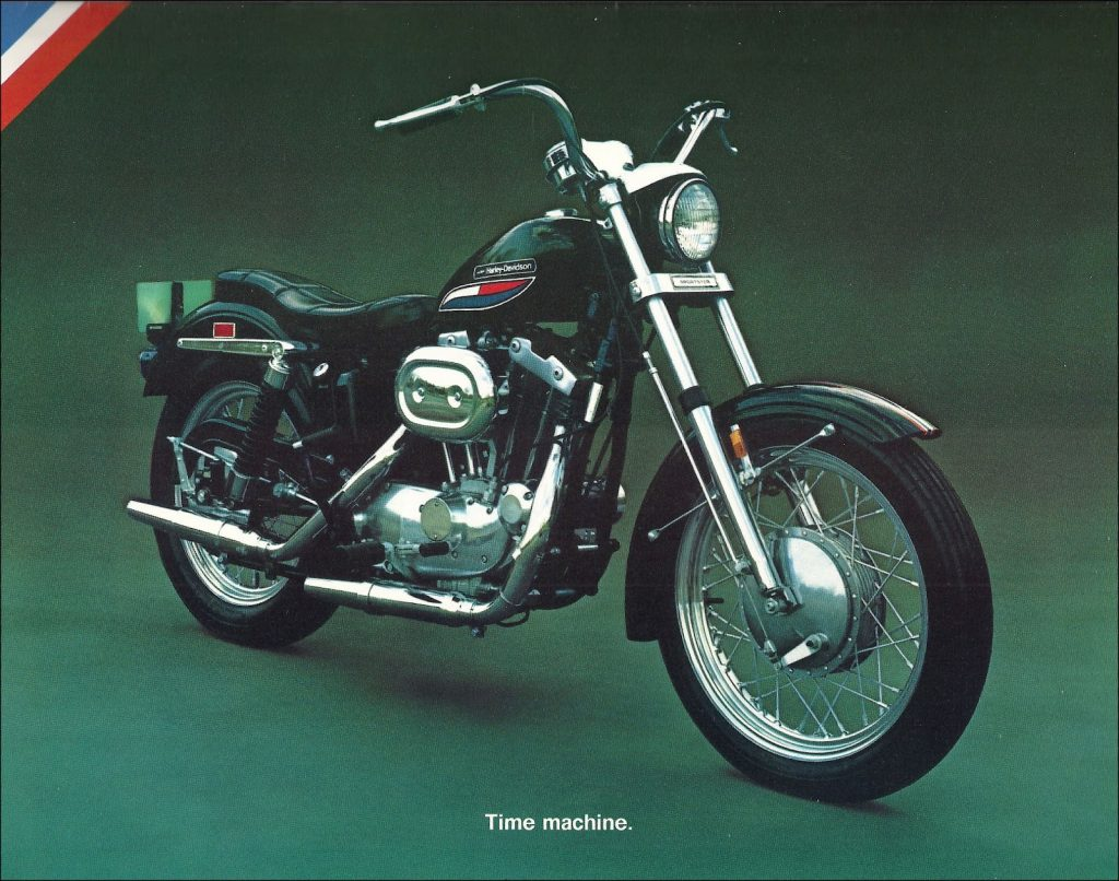 1972 - Harley-Davidson - Folletos