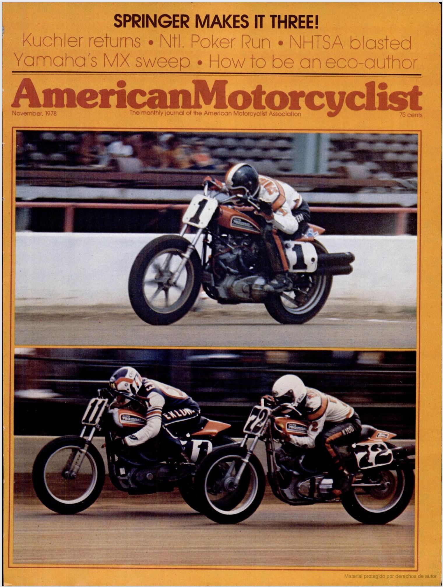 American Motorcyclist de nov-1978