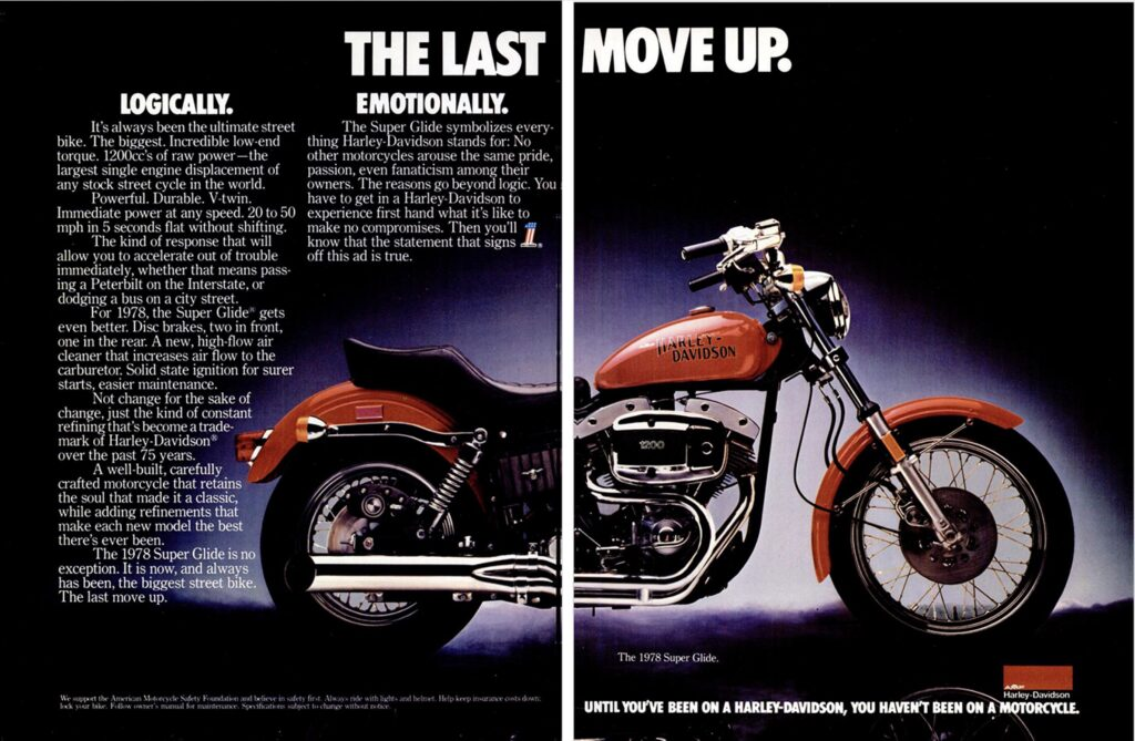 1978 - Harley-Davidson - Folletos