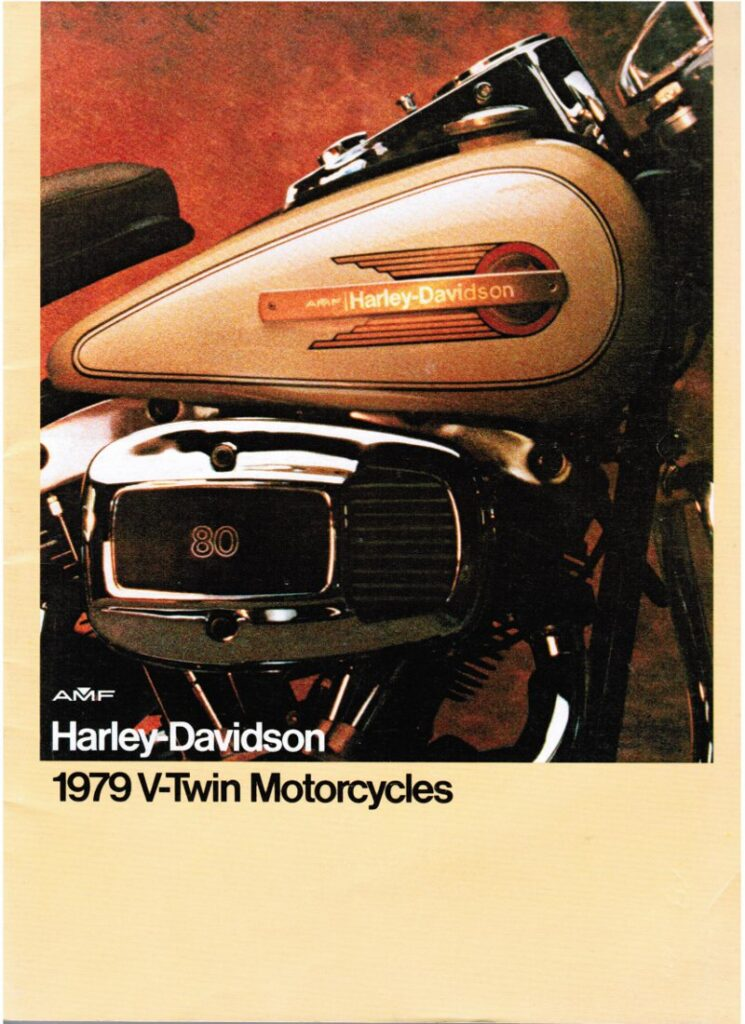 1979 - Harley-Davidson - Folletos