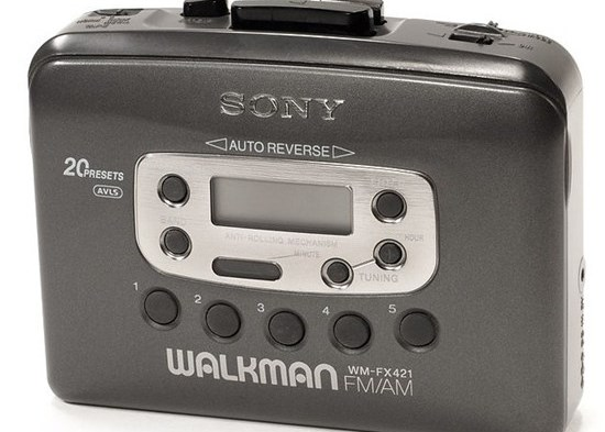Primer Walkman de Sony