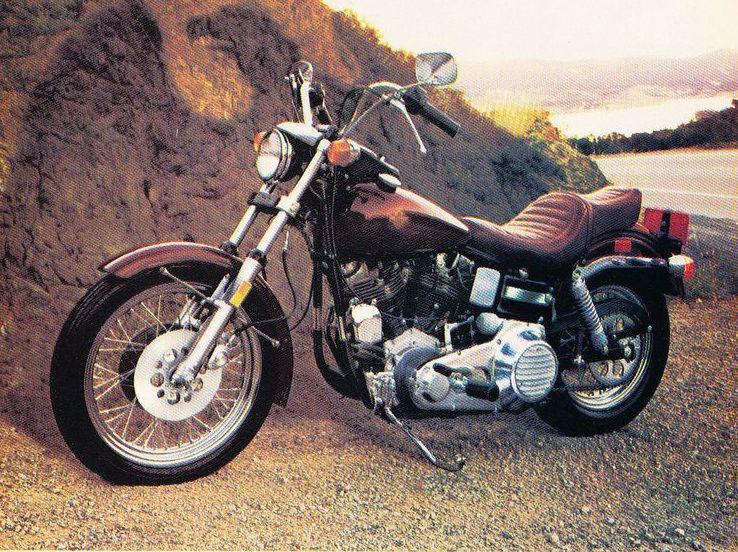 Modelo FXEF Fat Bob de 1980