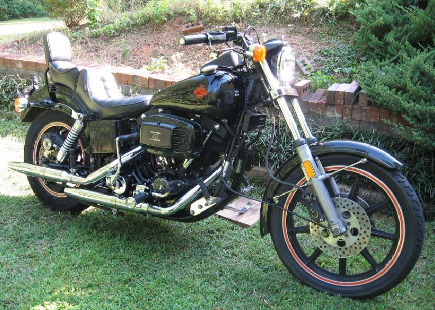 Modelo FXB Sturgis de 1980