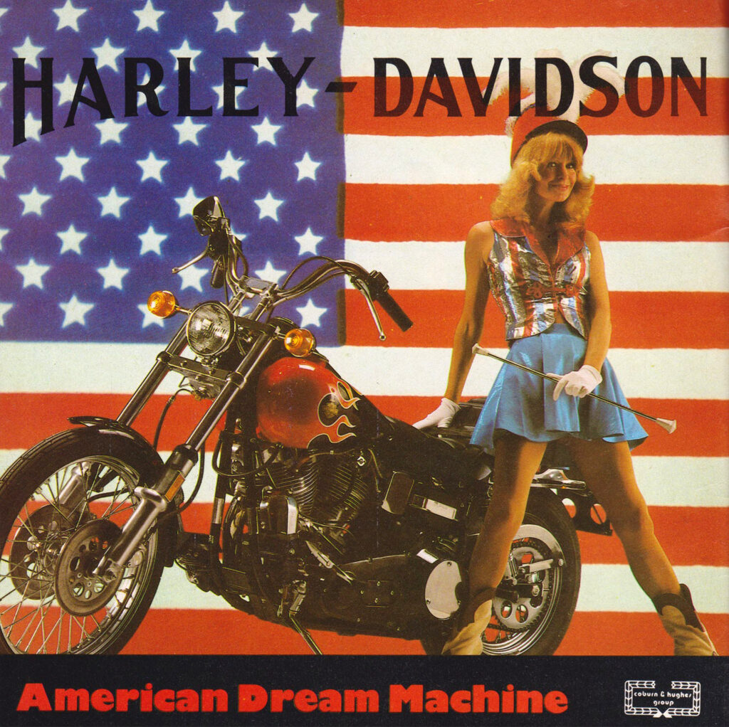 1980 - Harley-Davidson - Folletos