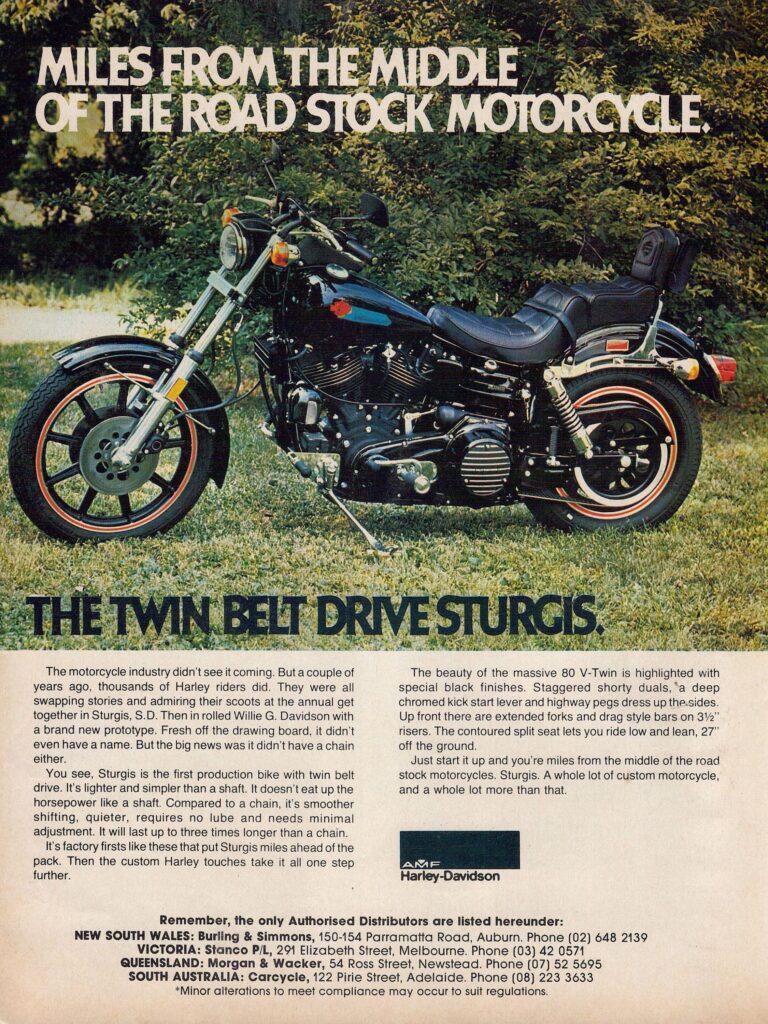 1980 - Harley-Davidson - Folletos