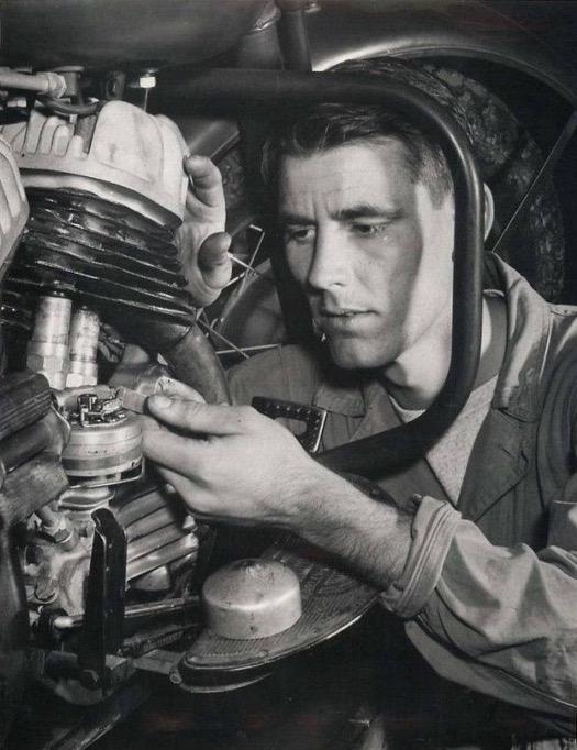 1942 - Escuela de Mecánicos en Fort-Knox