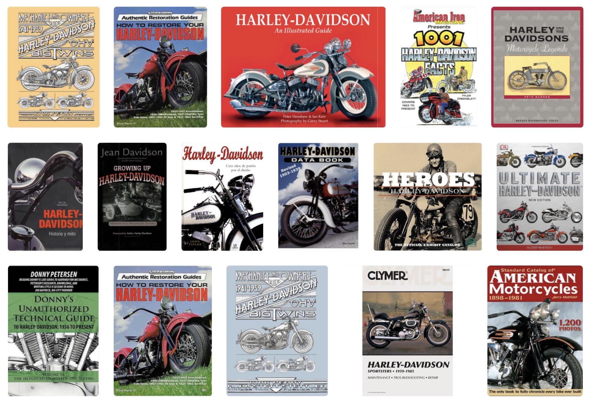 Libros de Harley-Davidson
