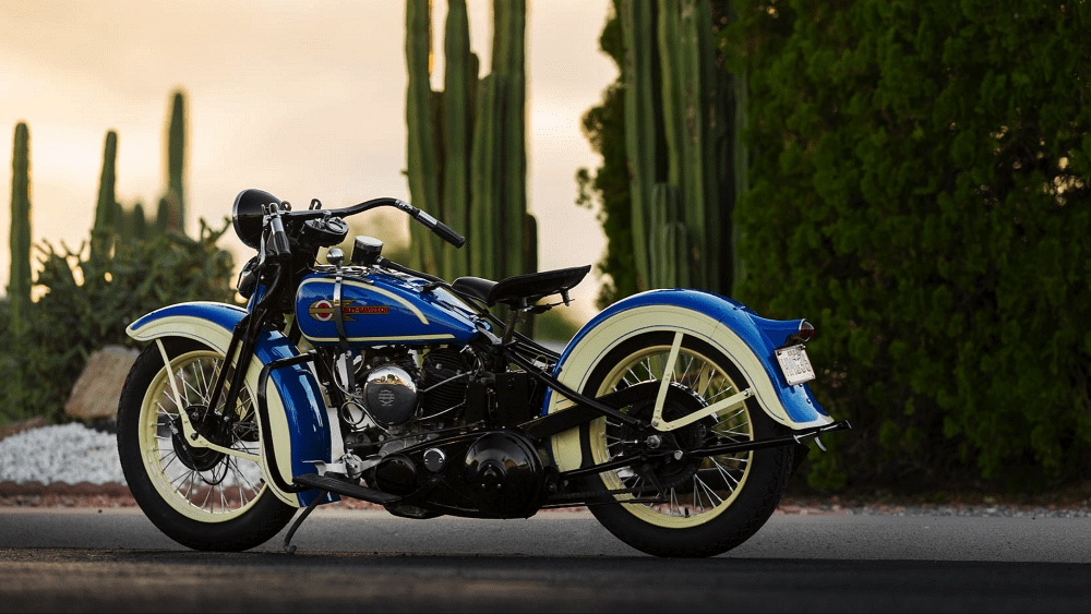 Harley-Davidson VLH 1936 de Steve McQueen