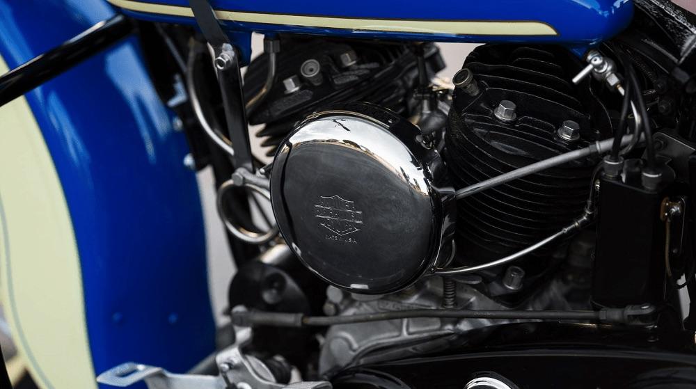 Harley-Davidson VLH de 1936 - carburador