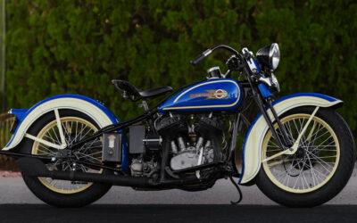Subasta de la Harley-Davidson VLH 1936 de Steve McQueen