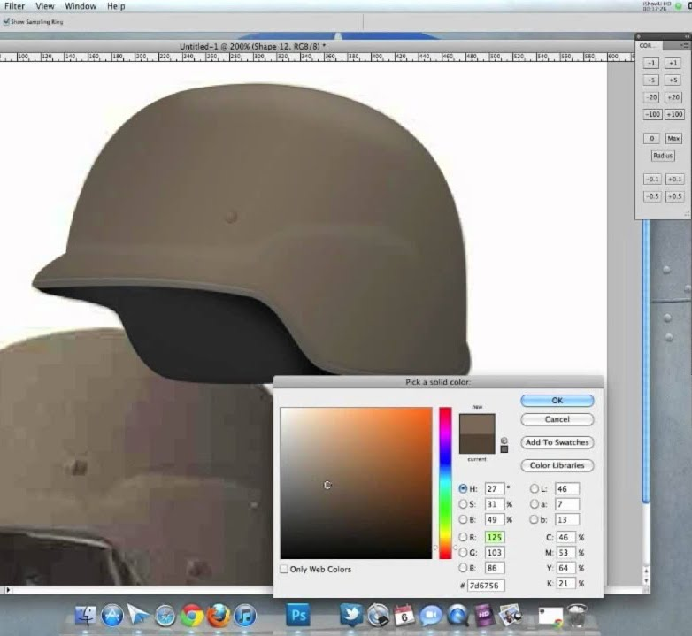 Diseño de un casco