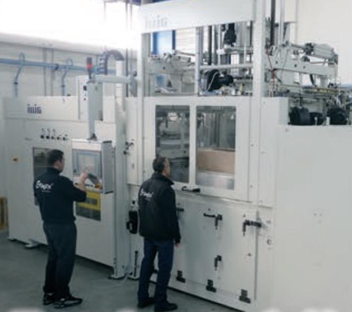 plástico termoformado - proceso