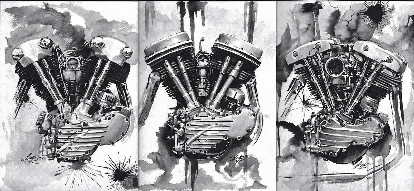 Los motores actuales de Harley-Davidson