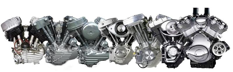 Los Motores Harley-Davidson