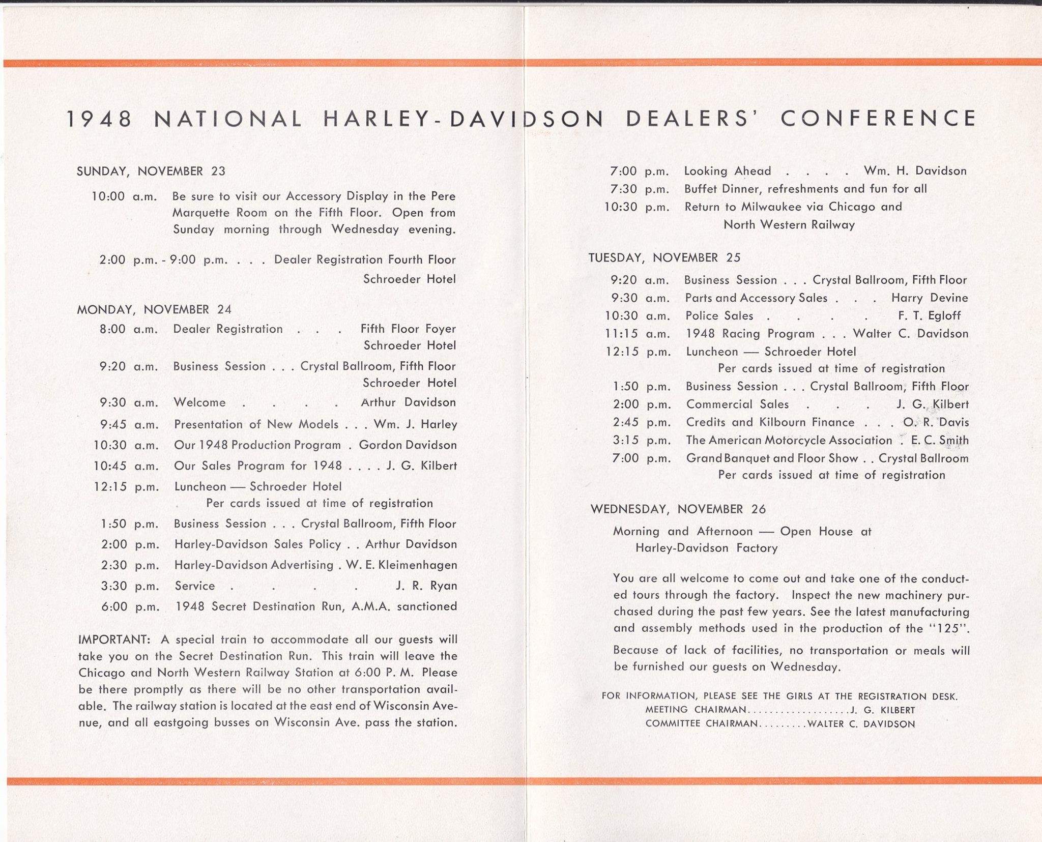 Reunión de distribuidores de 1948