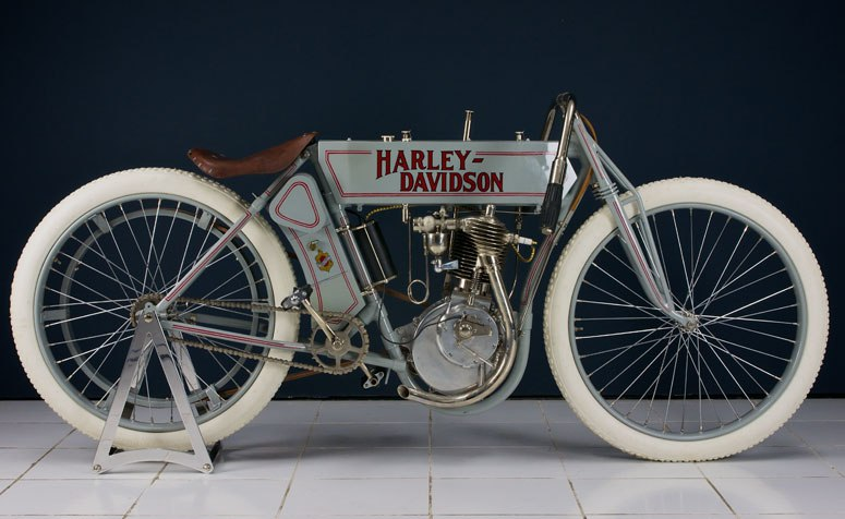 1910 - Harley-Davidson modelo 6E Factory Racer