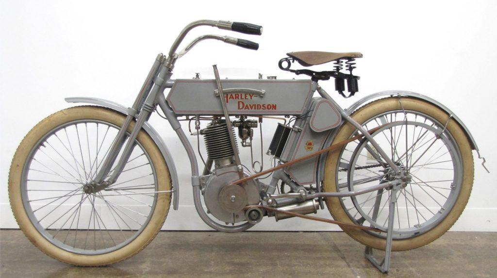 1910 - Harley-Davidson modelo 6
