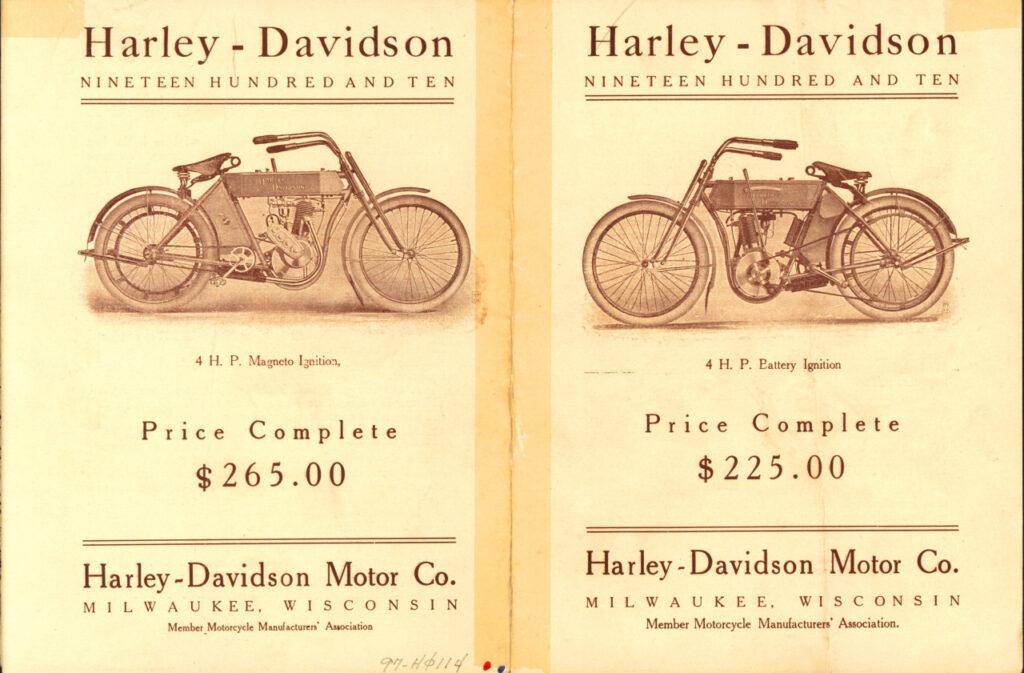 Folleto publicitario de 1910